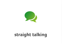 straight-talking